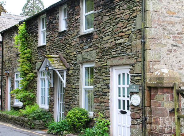 The Old Bakery Cottage In Grasmere  6725 Art Print
