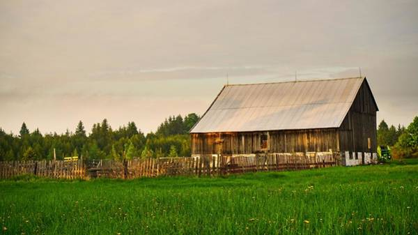 Photograph - The Old Barn by Bryan Smith