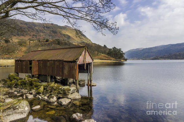 Photograph - The Old Boathouse by Ian Mitchell