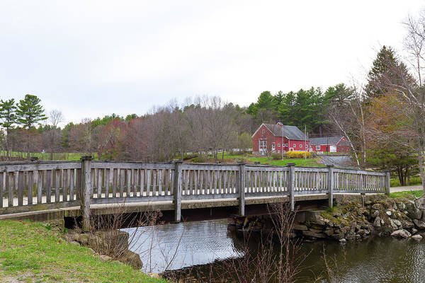 Photograph - The Old Bridge At River Bend Farm by Brian Hale