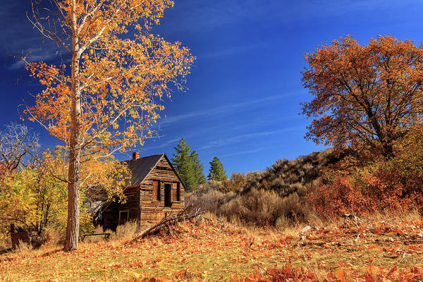 Wall Art - Photograph - The Old Bunkhouse Landscape by James Eddy