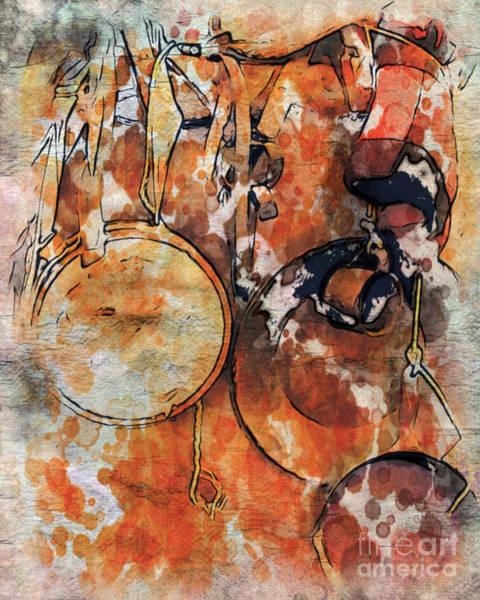 Chuck Wagon Digital Art - The Old Chuckwagon by Robin  Waters