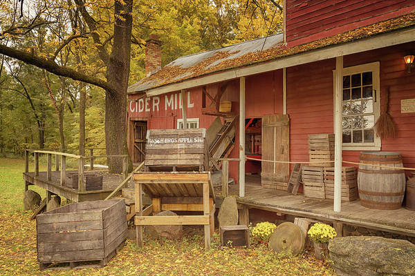 Photograph - The Old Cider Mill by Susan Rissi Tregoning