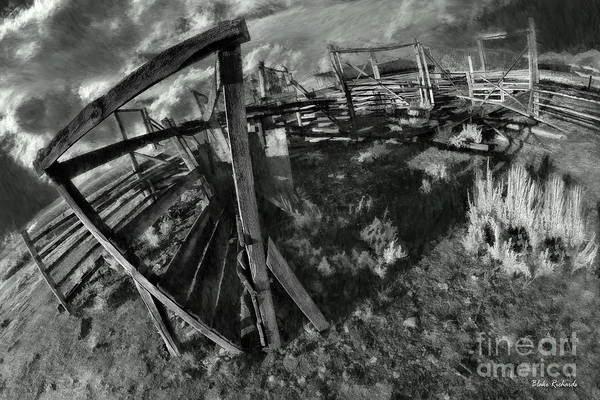 Photograph - The Old Corel by Blake Richards