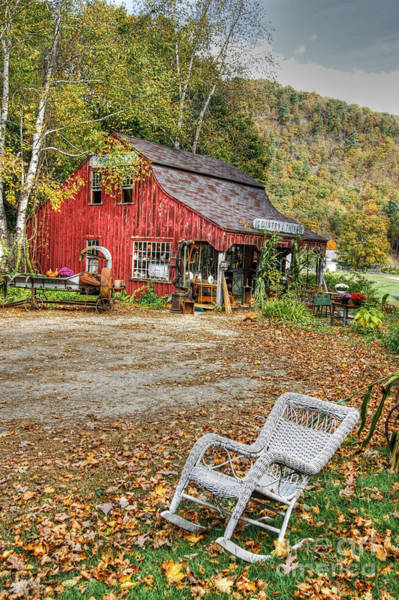 Photograph - The Old Country Store by David Birchall