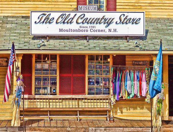 Photograph - The Old Country Store, Moultonborough by Nancy De Flon