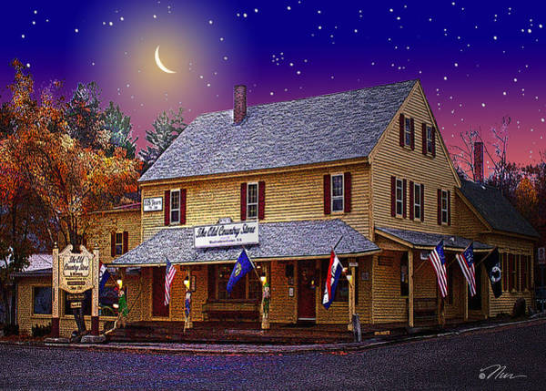 Photograph - The Old Country Store by Nancy Griswold