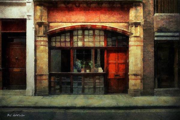 Painting - The Old Curiosity Shop by RC DeWinter
