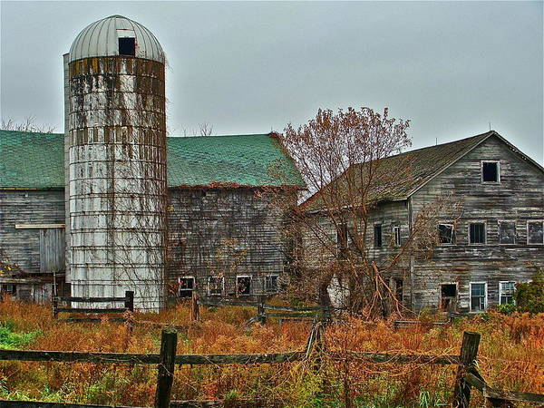 Photograph - The Old Farm by Diana Hatcher