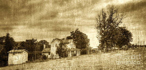Photograph - The Old Farm by Pete Hellmann