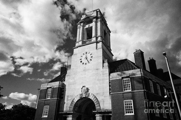 Central Fire Station Photograph - the old fire station building lancaster street now university student accommodation Birmingham UK by Joe Fox