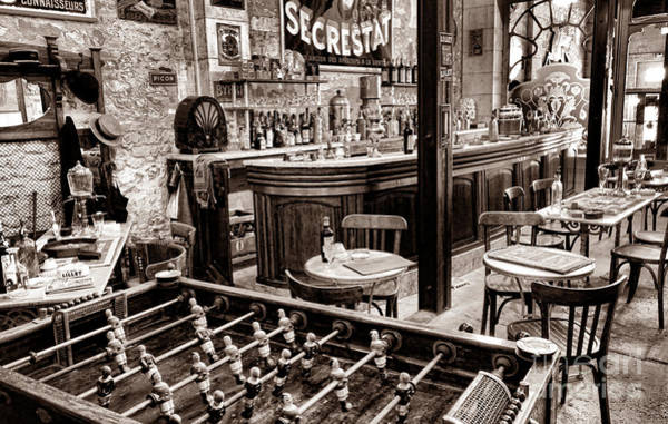 Photograph - The Old French Bistro by Olivier Le Queinec