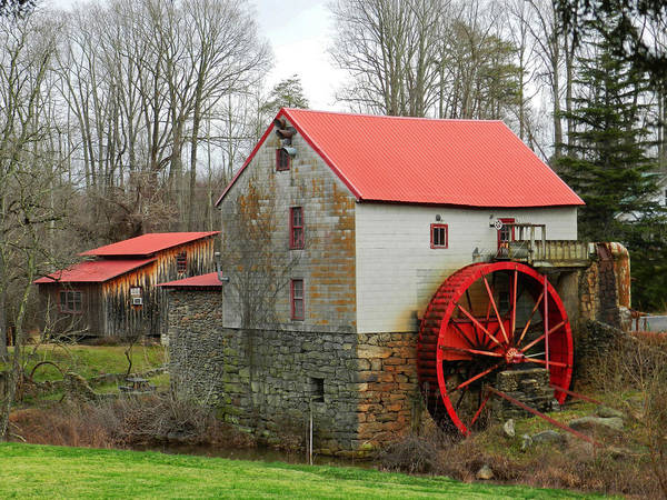 Photograph - The Old Guilford Mill by Sheila Kay McIntyre