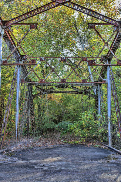 Photograph - The Old Highway 45 Bridge by JC Findley