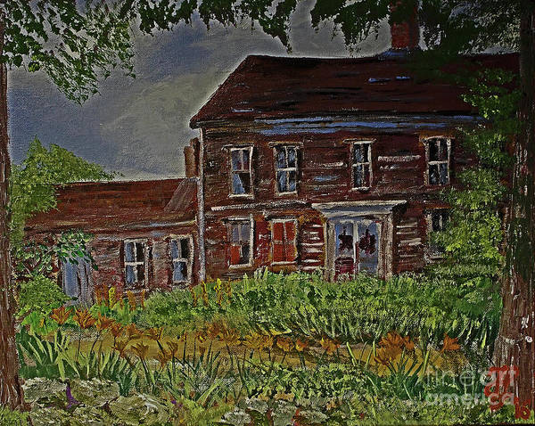Painting - The Old Homestead by Francois Lamothe