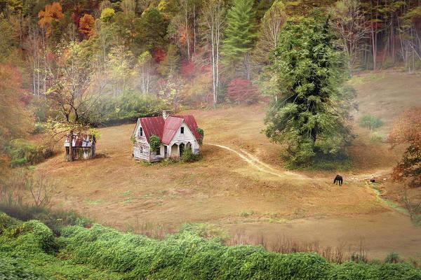 Nantahala Photograph - The Old Homestead by Lori Deiter