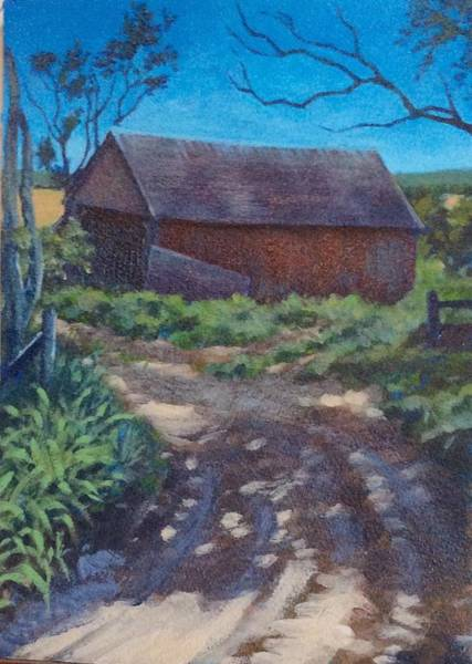 Painting - The Old Homestead by Sharon Cromwell