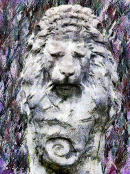 Painting - The Old King Weeps by RC DeWinter
