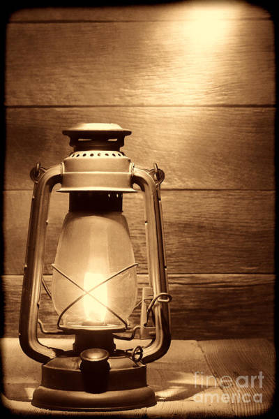 Photograph - The Old Lamp by American West Legend By Olivier Le Queinec