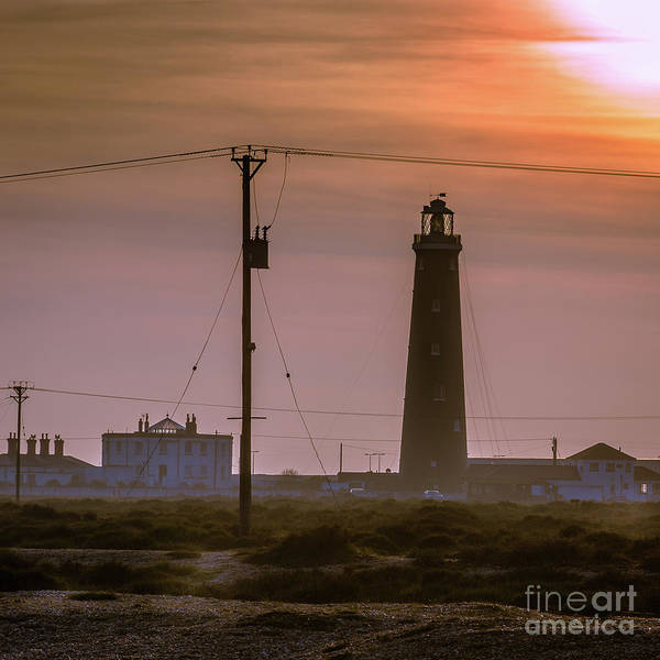 Photograph - The Old Lighthouse, Dungeness Beach by Perry Rodriguez