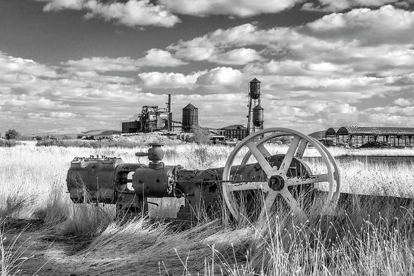 Photograph - The Old Lumber Mill Bw by James Eddy