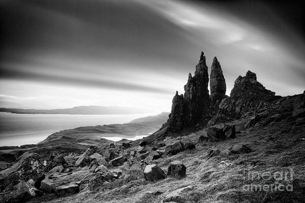 Isle Of Skye Photograph - The Old Man Of Storr by John Farnan
