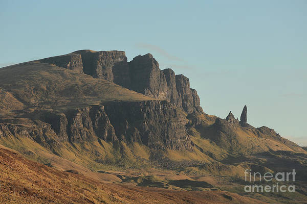 Photograph - The Old Man Of Storr by Maria Gaellman