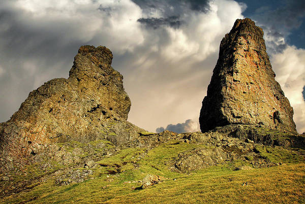 Isle Of Skye Photograph - The Old Man Of Storr by Smart Aviation