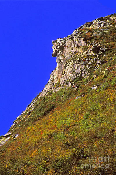 Franconia Notch Photograph - The Old Man Of The Mountain by Larry Landolfi