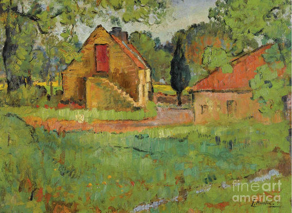 Fife Painting - The Old Mill, Fife by Celestial Images