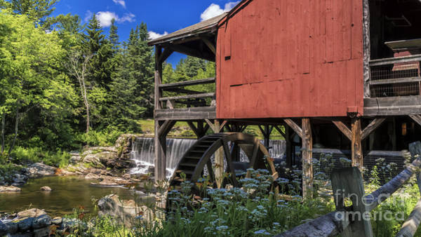 The Old Mill Museum. Art Print