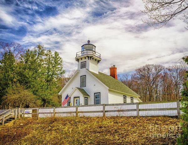 Photograph - The Old Mission Point Lighthouse by Nick Zelinsky