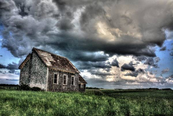 Photograph - The Old One Room Schoolhouse by David Matthews