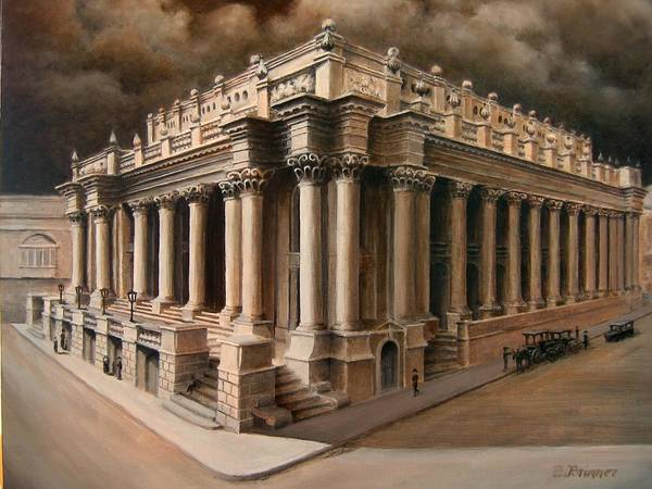 Benny Painting - The Old Opera House by Benny Brimmer