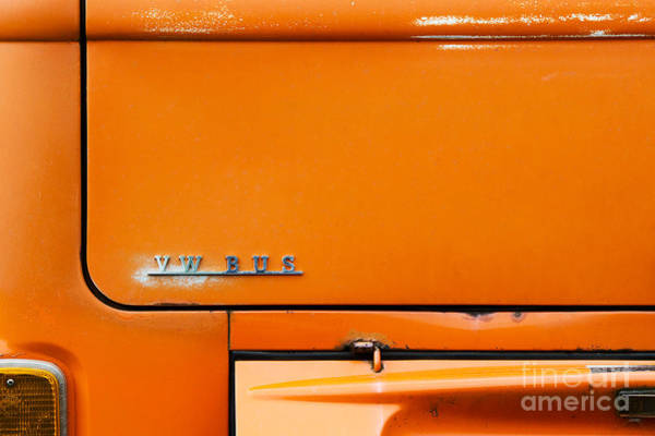 Wall Art - Photograph - The Old Orange Bus by Tim Gainey