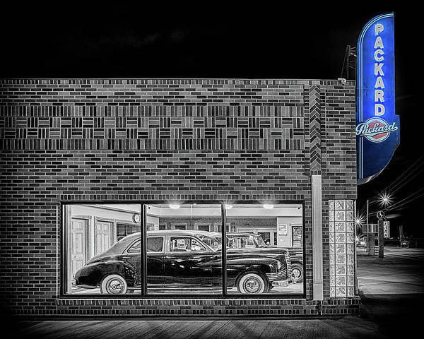 Photograph - The Old Packard Dealership #2 by Susan Rissi Tregoning