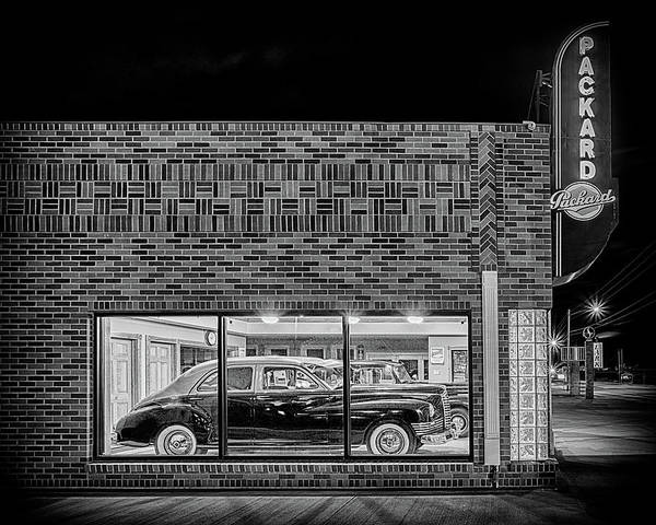 Photograph - The Old Packard Dealership #3 by Susan Rissi Tregoning