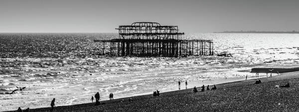 Photograph - The Old Pier by Makk