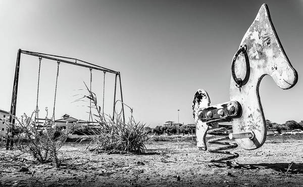 Photograph - The Old Playground by Gary Gillette