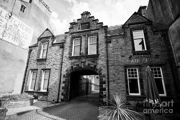 Wall Art - Photograph - The Old Police Station Building Cockermouth Cumbria England Uk by Joe Fox