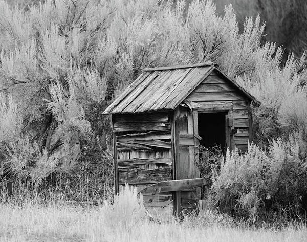 Privy Photograph - The Old Privy by Whispering Peaks Photography