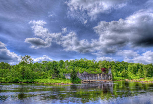 Photograph - The Old Pulp Mill At Mckeever by David Patterson