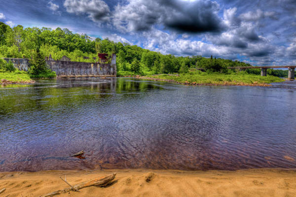 Photograph - The Old Pulp Mill At The Mckeever Bridge by David Patterson