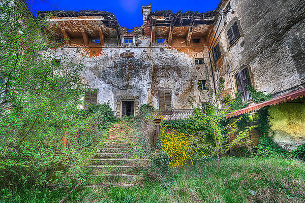 Photograph - The Old Ruined Castle by Enrico Pelos