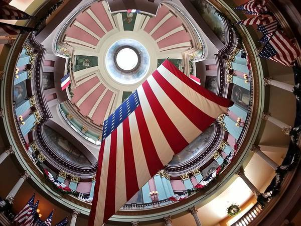 Photograph - The Old Saint Louis Courthouse by Robert Knight