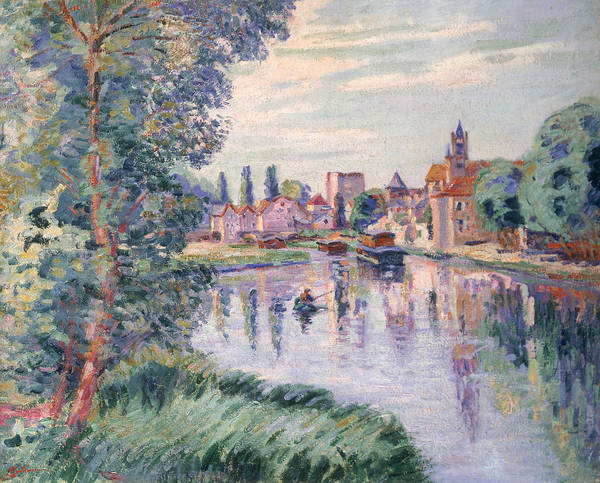 1900 Painting - The Old Samois by Jean Baptiste Armand Guillaumin