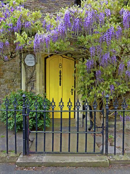 Photograph - The Old School House Door by Gill Billington