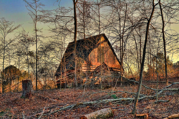 Lean-tos Photograph - The Old Shack by Jason Blalock