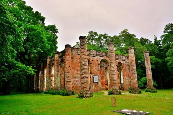 Photograph - The Old Sheldon Church Ruins 3 by Lisa Wooten