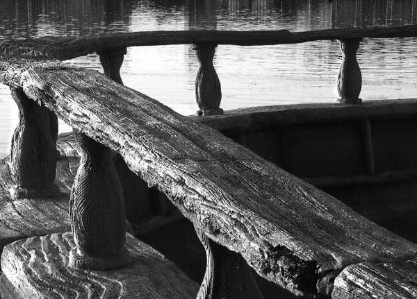 Wall Art - Photograph - The Old Ships Rail by Kenneth Krolikowski